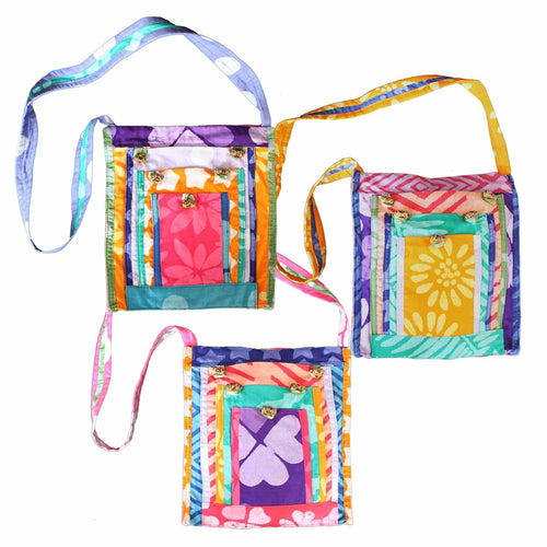 Urban Explorer Bag Batik Patchwork Assorted - Global Mamas (Bag)