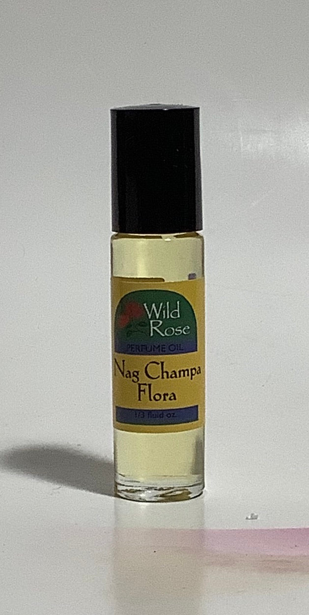 Nag Champa Flora Body Oil by Wild Rose