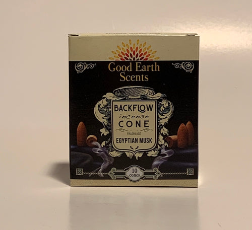 Good Earth Backflow Incense Cones