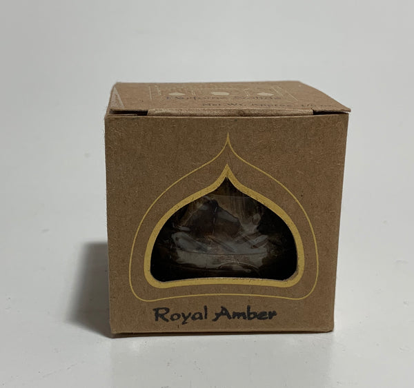 Royal Amber Auric Blends Solid Perfume