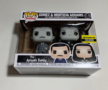 Load image into Gallery viewer, Addams Family Morticia and Gomez Black-and-White Pop Vinyl Figure 2-Pack