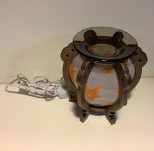 Load image into Gallery viewer, Fall Leaf Round Design Scented Oil Diffuser Aroma Lamp