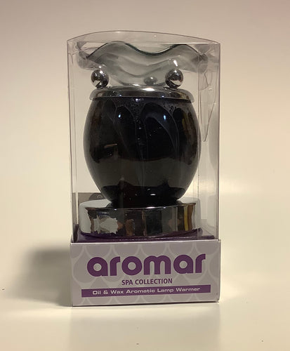 Marble Globe Electric Aroma Lamp (Black)