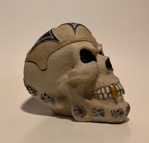 Iron Cross Skull with Removable Lid