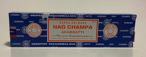 Satya Sai Baba Nag Champa Incense Sticks 15,40,100 Grams