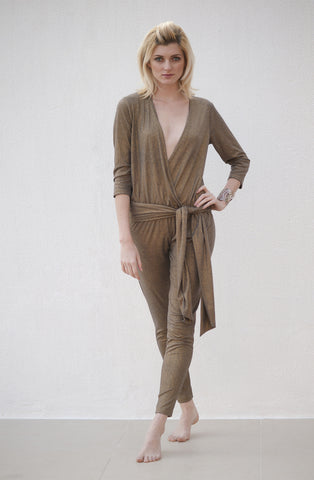 Devina Jumpsuit with Belt