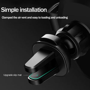 "Chargeur Sans Fil ""Wireless QI"" Pour Voiture:  IPhone X/XS Max XR 8 Plus, Samsung S8 /S9, Note 9 / 8"