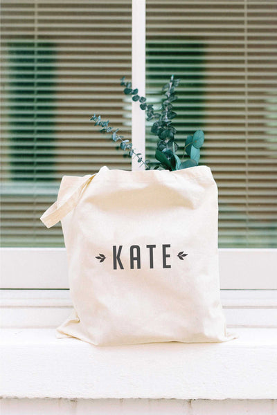 Personalized Tote Bag - Tan 4