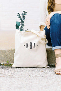 Personalized Tote Bag - Tan 3