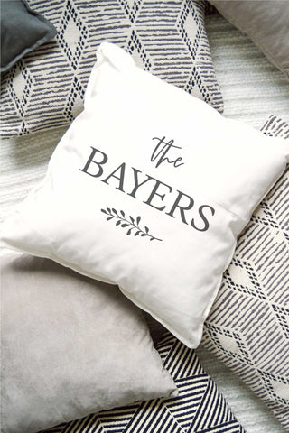 Personalized Pillow - White 1