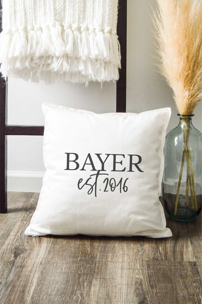 Personalized Pillow - White 2