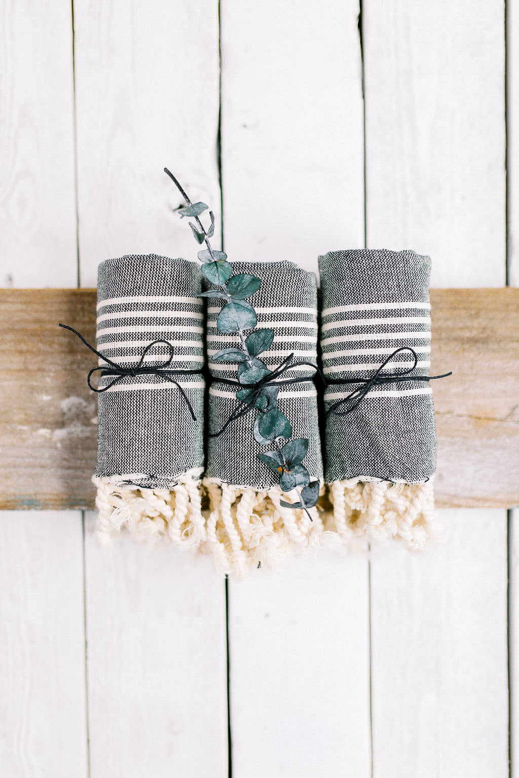 Tea Towel (set of 3) - Gray 1