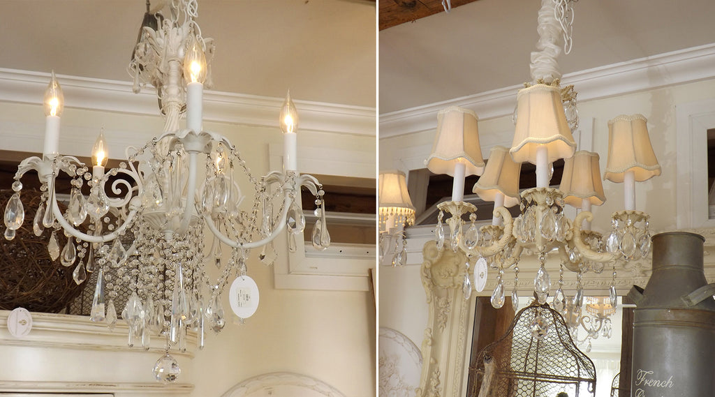 Shabby Chic Style & French Country Chandeliers