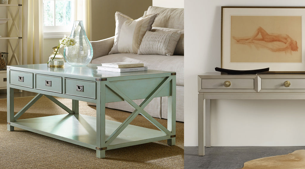 Somerset Bay Console & End Tables