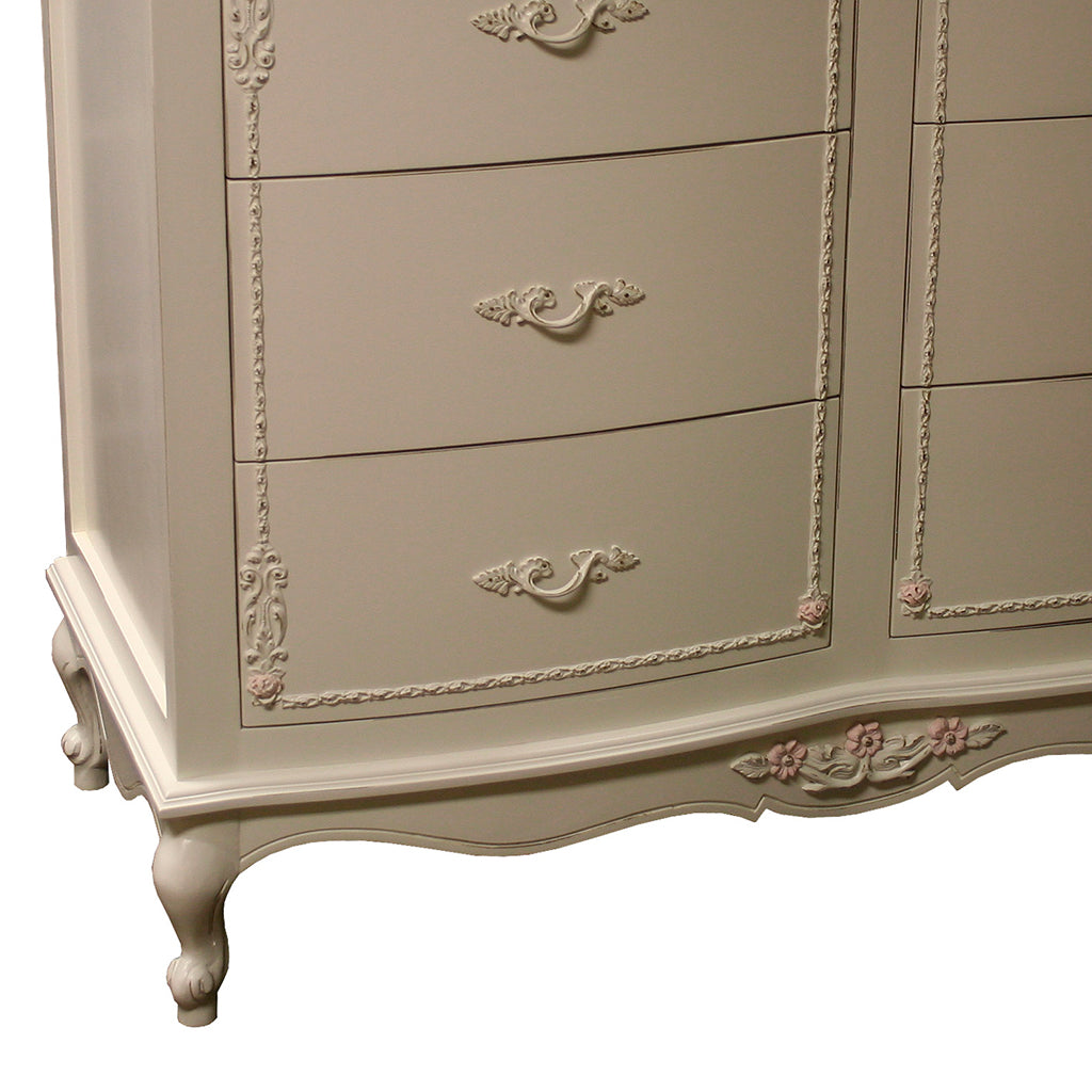 Country French Dresser with Trim