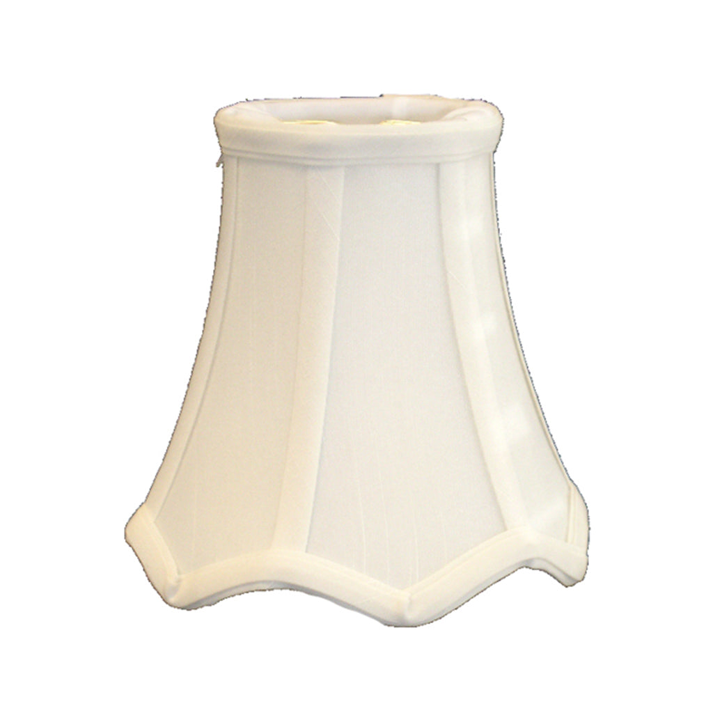 Cream Ribbed Sconce or Chandelier Shade