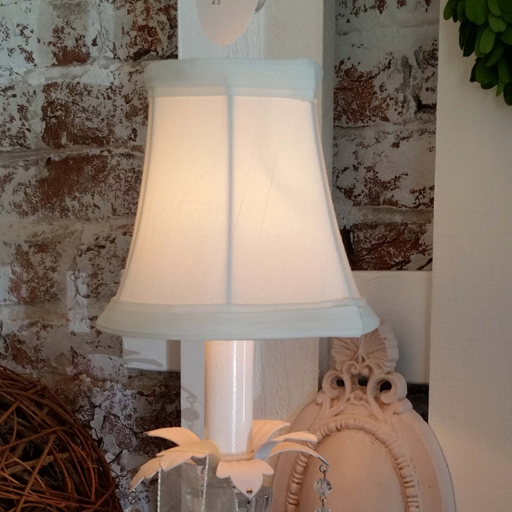 Shantung Silk Sconce Shade