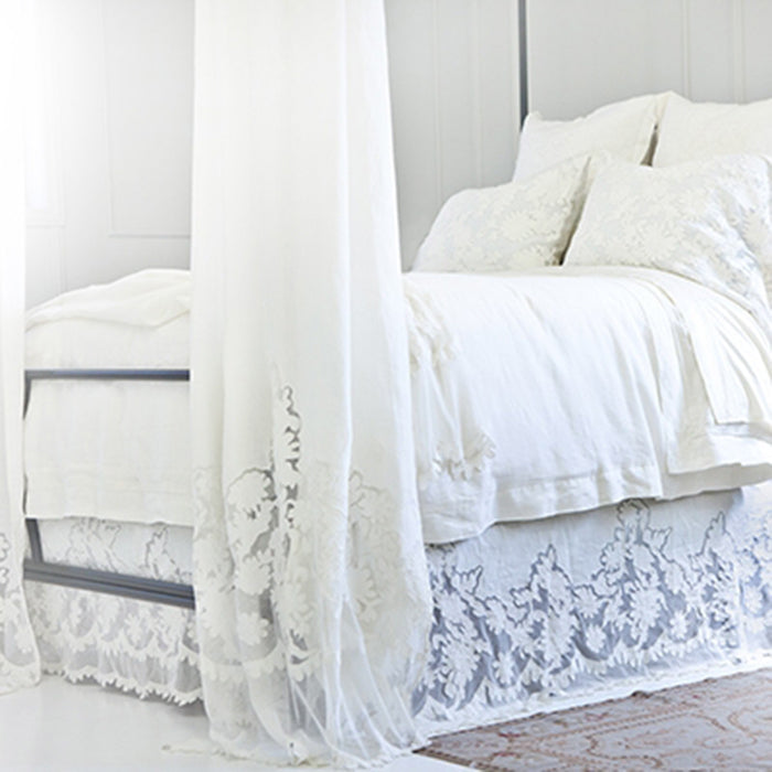 Pom Pom Duvet Cover in Caprice