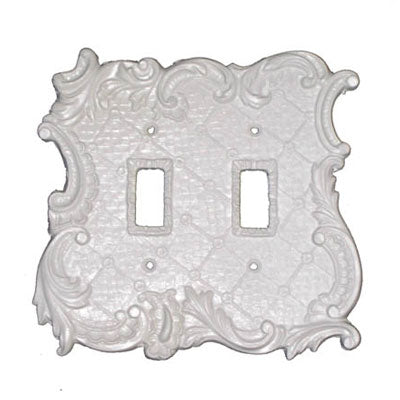 Shabby Chic Style Double Switch Plate