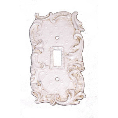 Shabby Chic Style Single Switch Plate