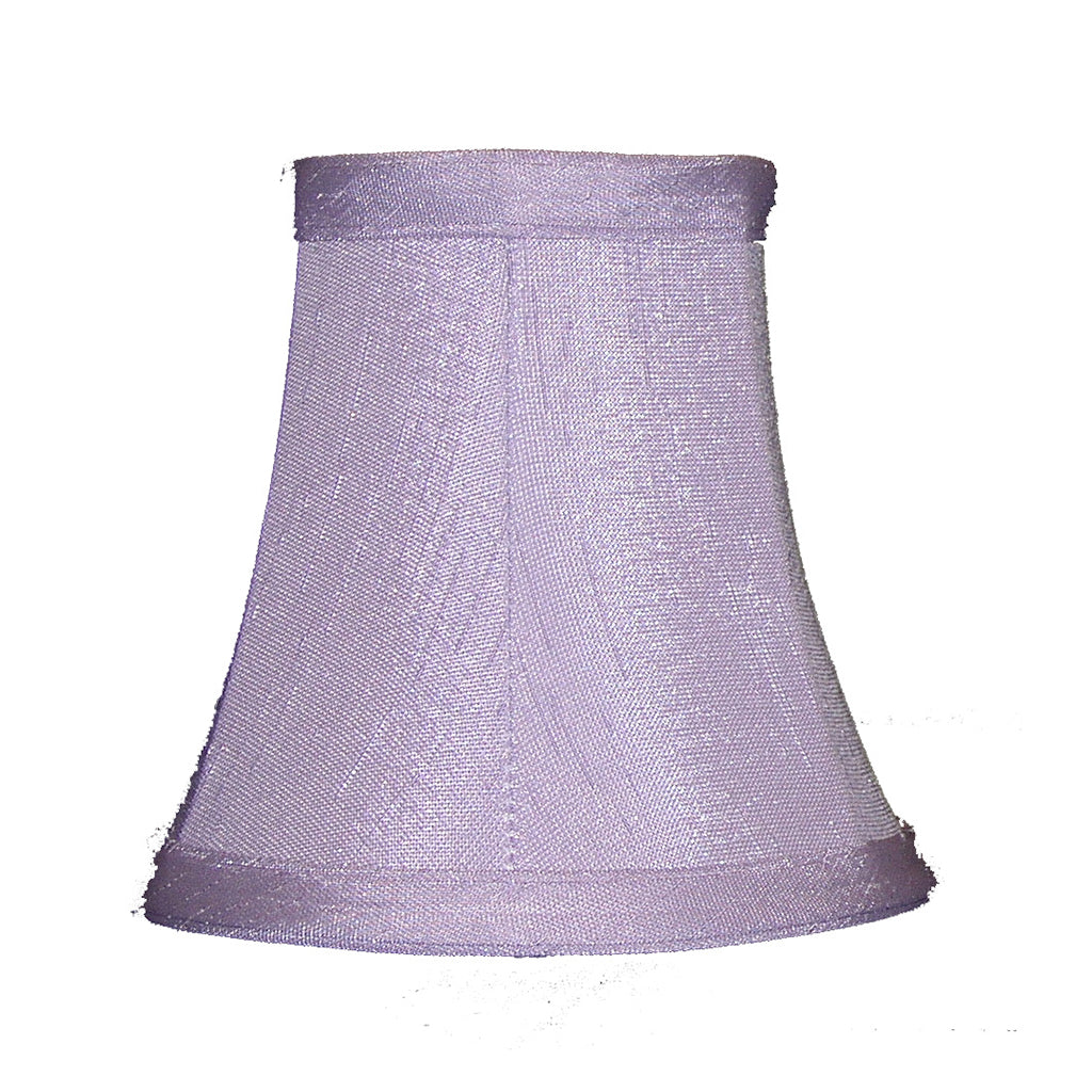Lavender Sconce or Chandelier Shade