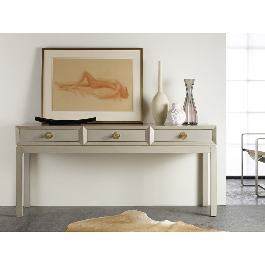 Mod Three Drawer Console