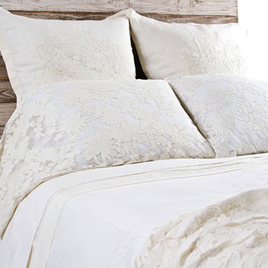 Pom Pom Pillow Case Set in Caprice