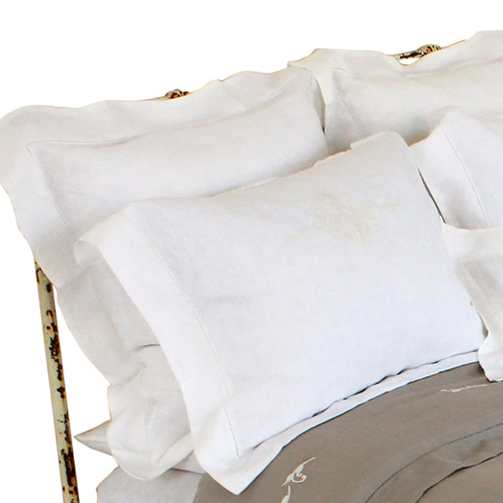 Pom Pom Pillow Shams in Classica