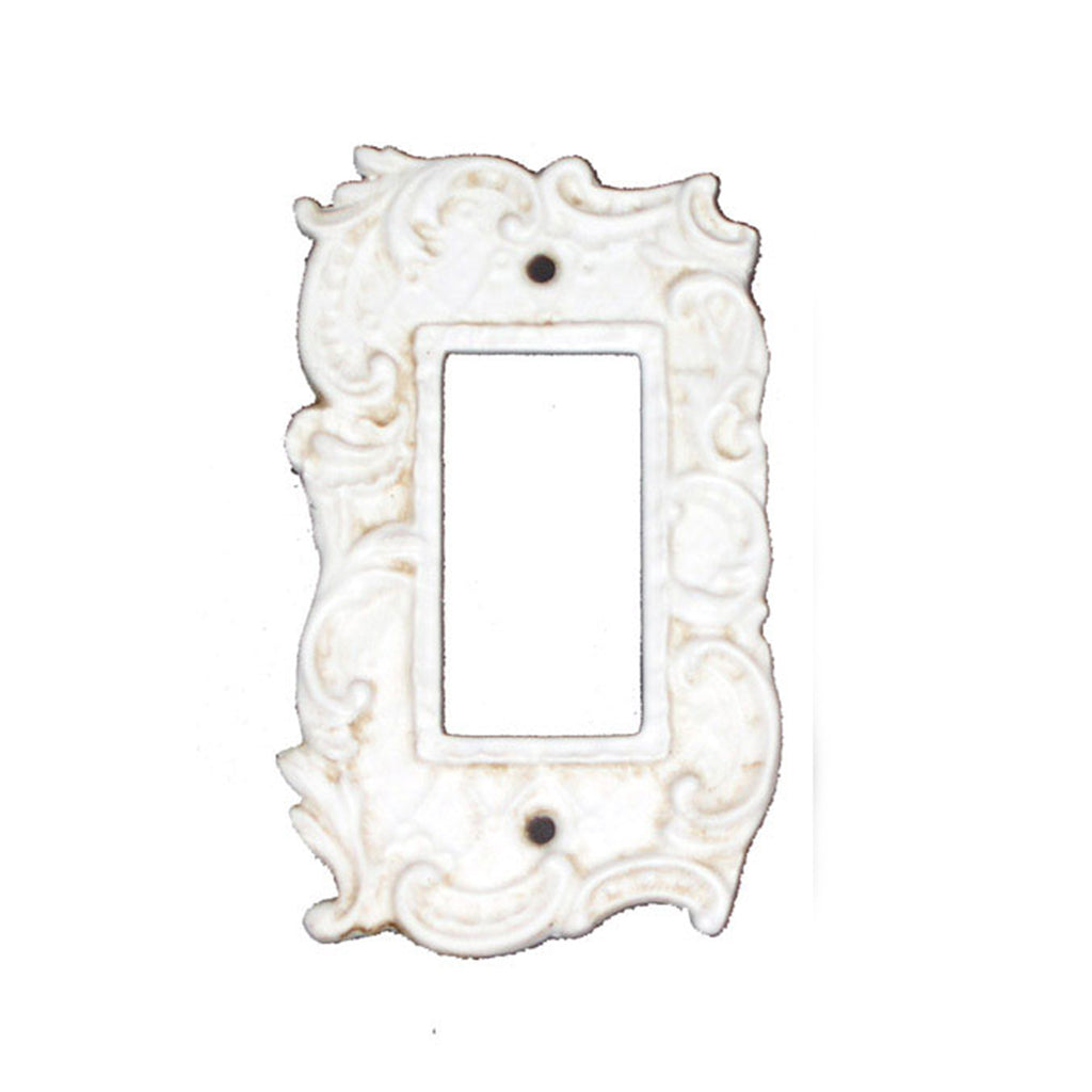 Shabby Chic Style Single Rocker Plate