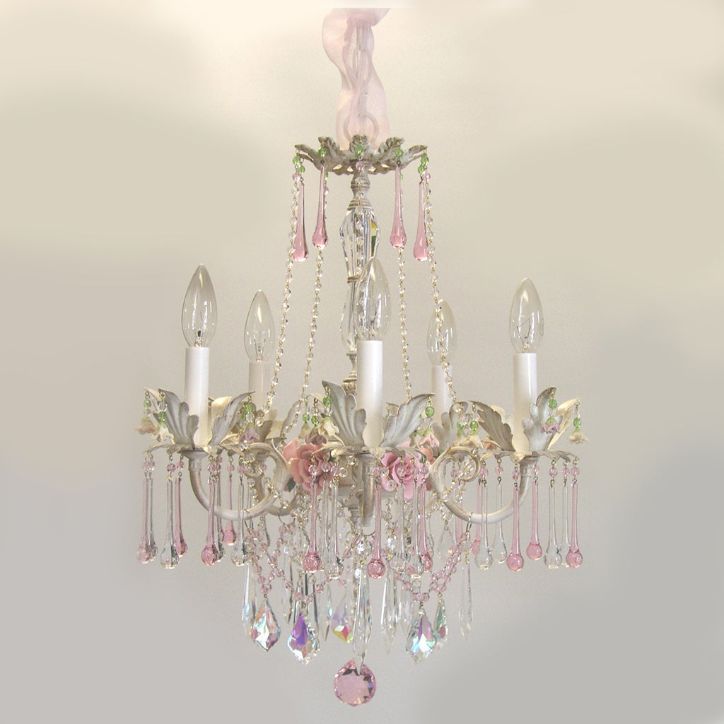 Rose Crown Chandelier