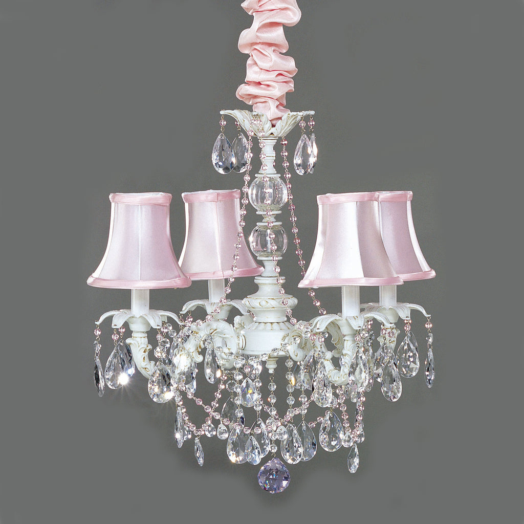 Shabby Chic Style Crystal Chandelier