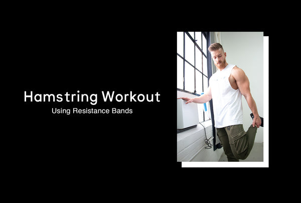 Hamstring Workout With Resistance Bands