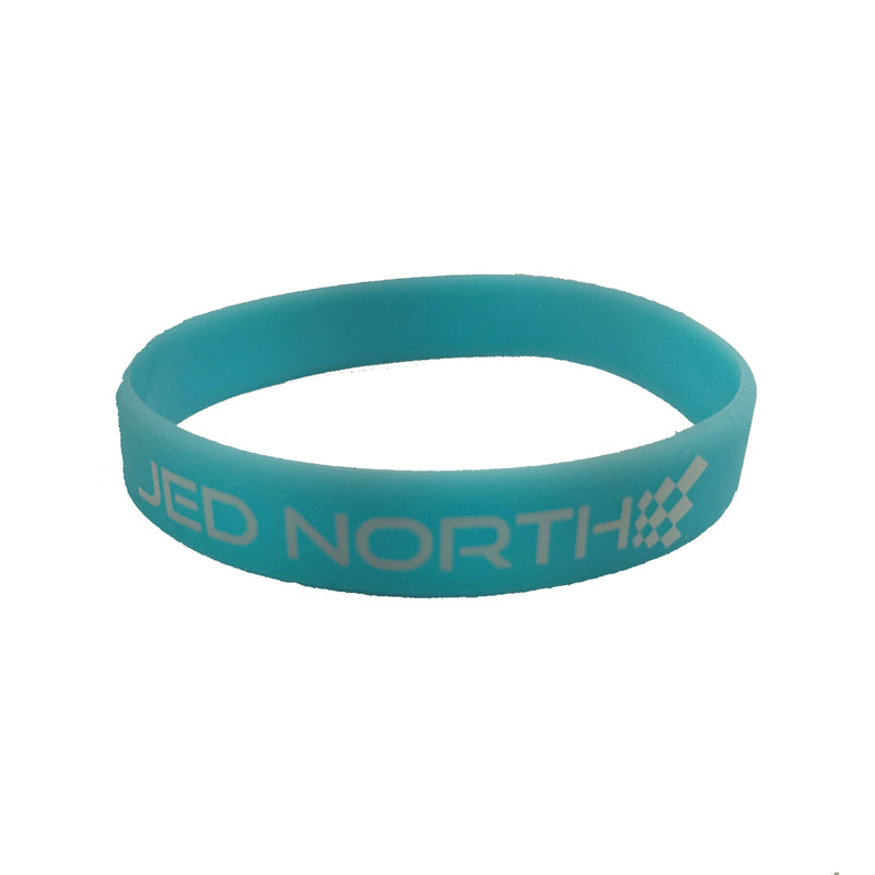 Jed North Wrist Band - Aqua Blue