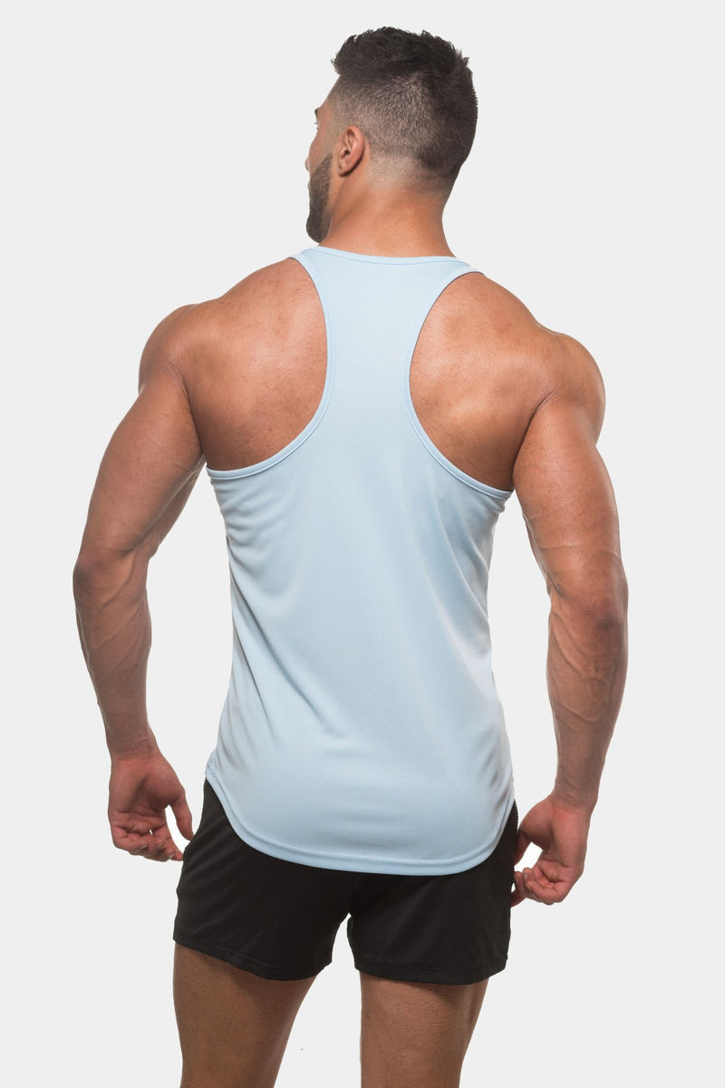 Microfiber Dri-Fit Stringer - Sky Blue