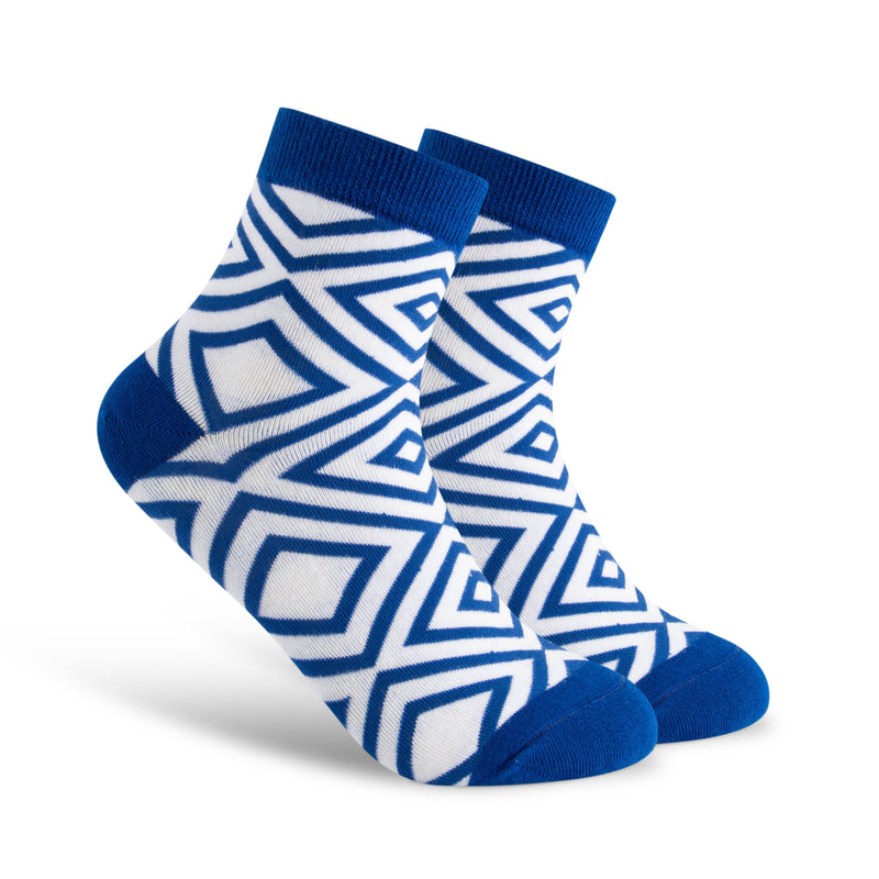 Multiple Diamonds Sock