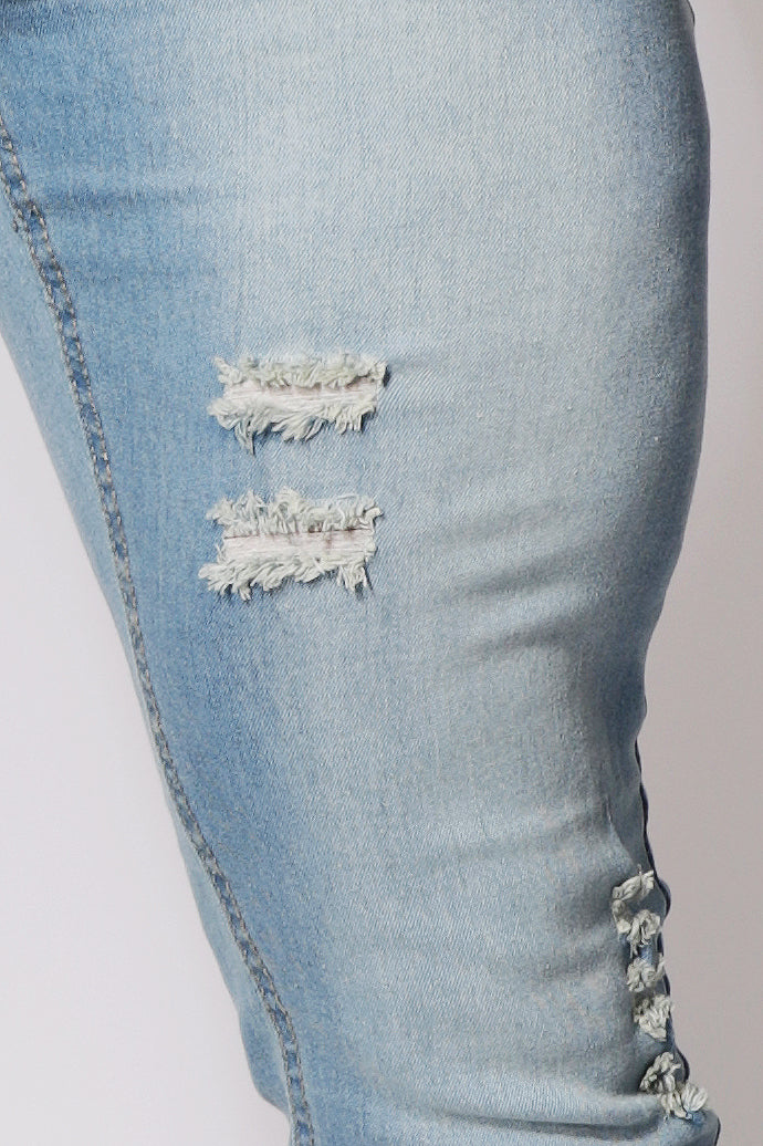 Archie Relaxed Jeans - Light Blue