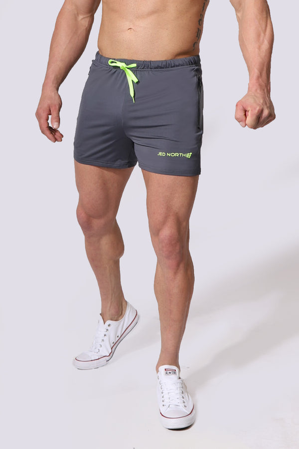 Agile Workout Shorts  - Gray