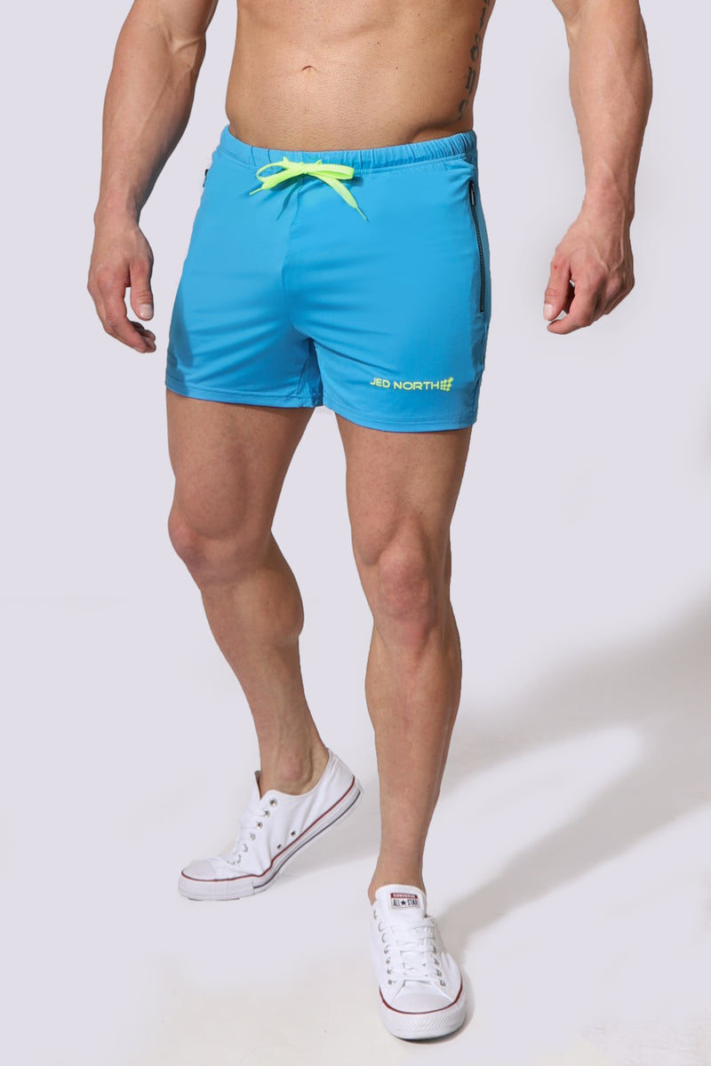 Agile Shorts - Aqua Blue