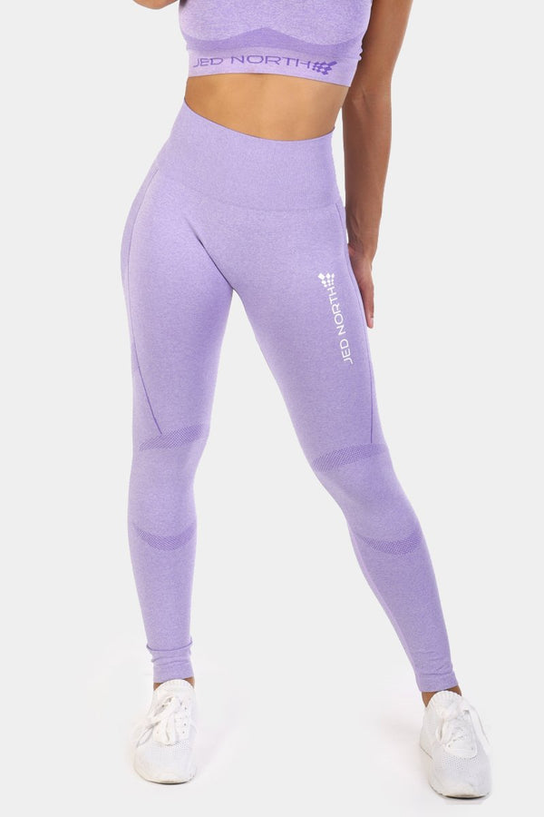 Supple Seamless Leggings - Purple