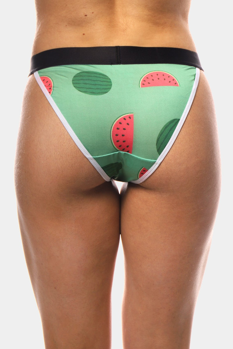 One in Melon String Bikini