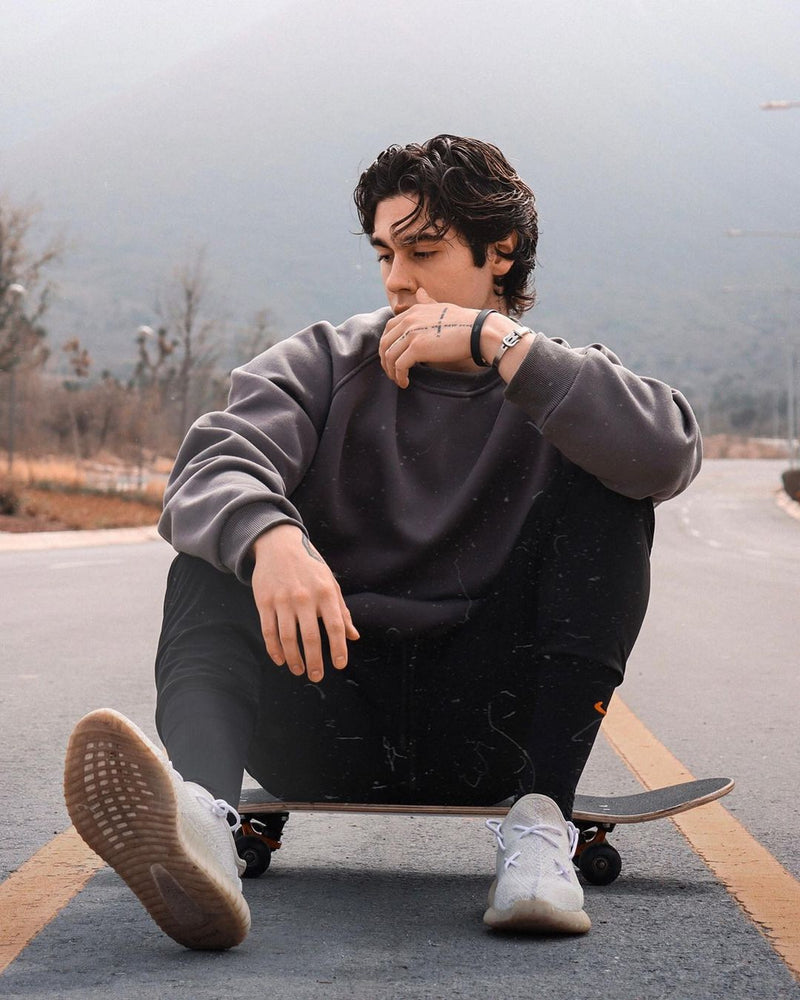 Leo Crewneck - Dark Gray