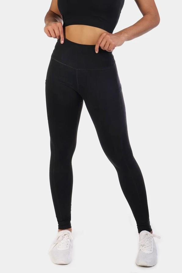 Lotus Leggings - Black
