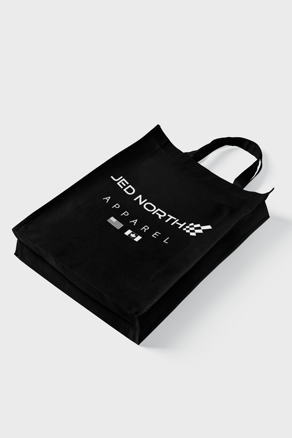 Jed North Tote Bag - Black
