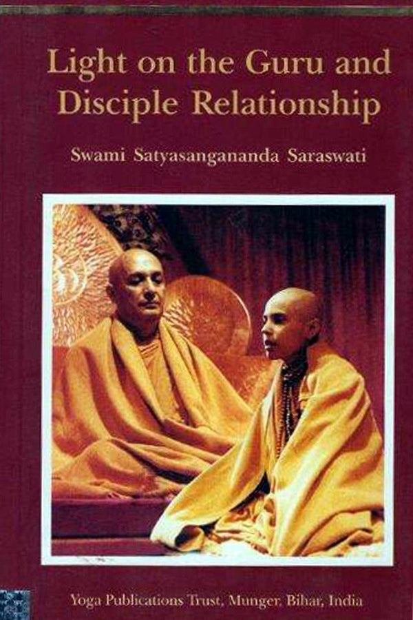 Light on the Guru and Disciple Relationship - Swam-ספרים באנגלית-יוגה סטור
