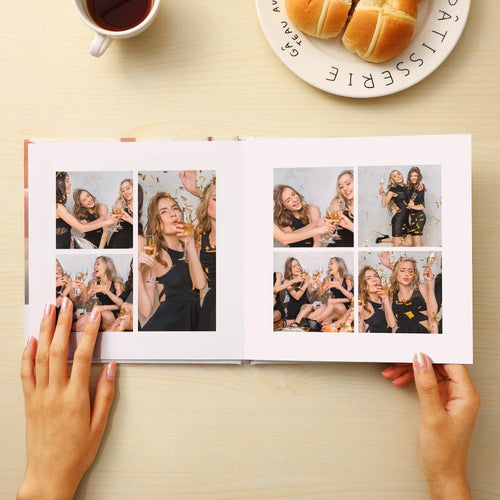 Custom Photo Book for Daily Unique Gifts 4 Size
