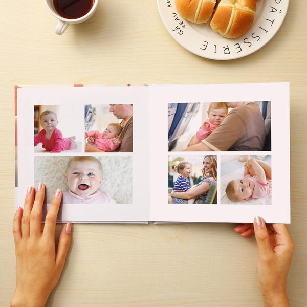 US Custom Photo Book Baby Photo Album for Newborn 4 Size