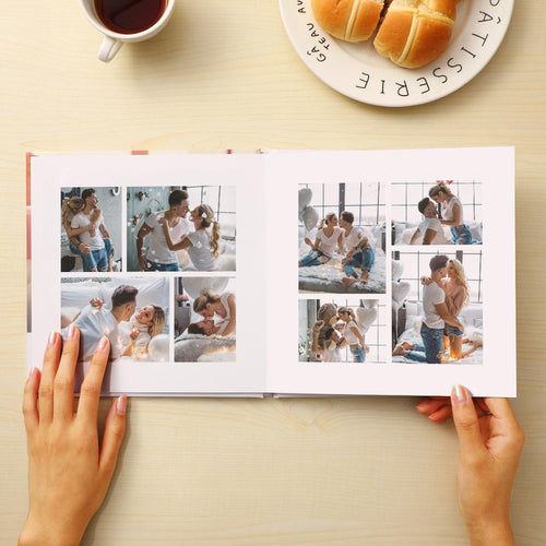 Custom Photo Book For Anniversary Photo Album 4 Size