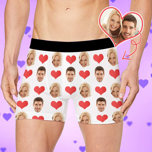 Custom Boxer Shorts - Heart