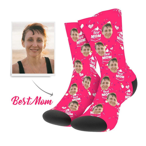 Custom Best Mom Socks