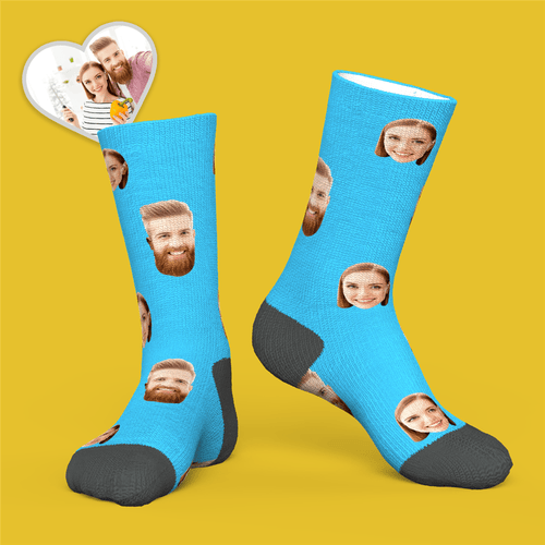 Custom Face Socks - USA Fast Delivery